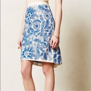 {Anthropologie} Moulinette Soeurs Skirt! Size 8